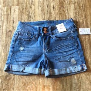 NWT SO Stretch Jean Shorts
